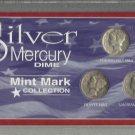 A 3-coin 90% Silver Mercury Dime Special Edition Collection.