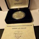 2014 Gem BU American Silver Eagle with COA