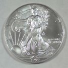 1999 Gem BU One Troy Oz. Silver Eagle.