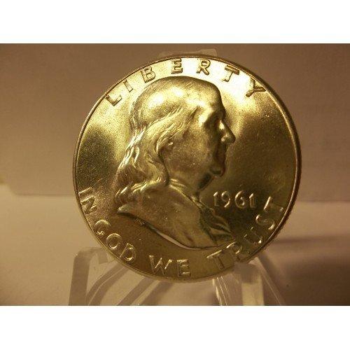 1961 #1 Gem BU Type II Silver Half Dollar