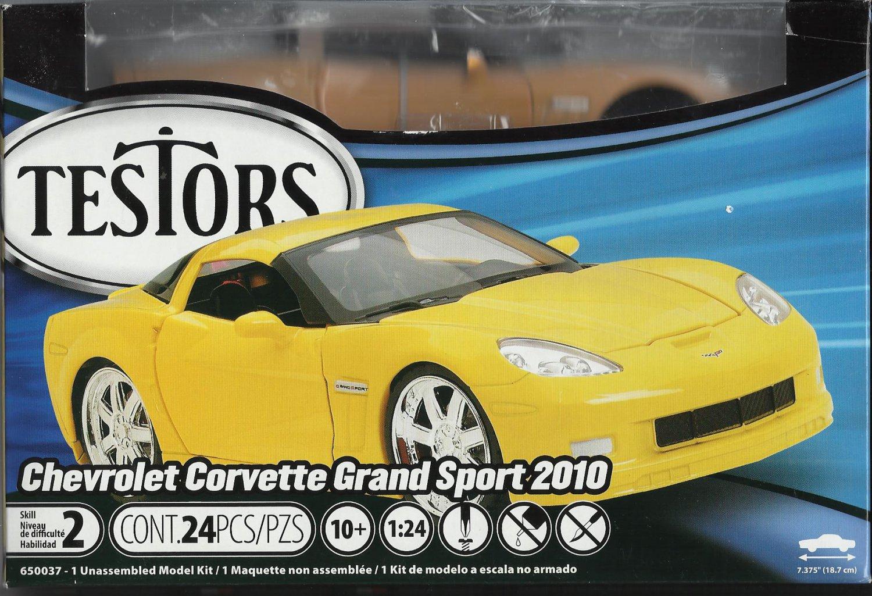All Metal Chevrolet Corvette Grand Sport 2010 Model Kit.