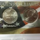 "BU 2015-P/D  ""Kisatchie National Forest-La."" America the Beautiful Quarter Comm. Collections"