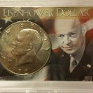 BU 1972 Type I #2  Ike Dollar in Special Presentation Case.