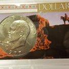 BU 1977-D  Ike Dollar in Special Presentation Case