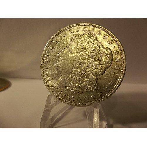1921 #7 90% Silver Morgan Dollar.