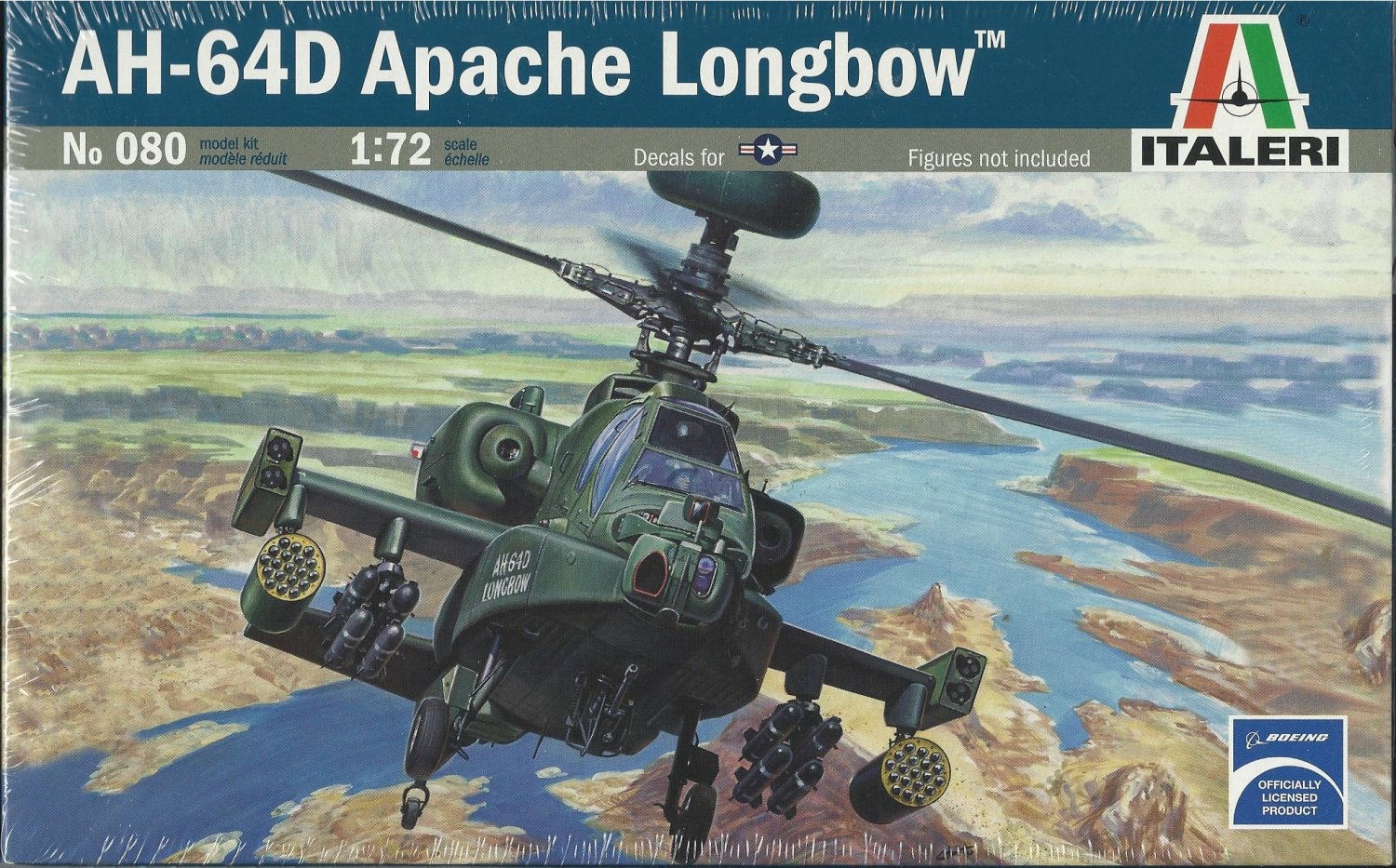 AH-64D Long Bow Apache Helicopter Model Kit