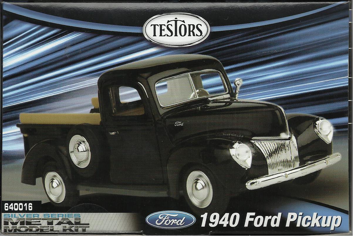 1940 Metal Ford Pickup Model Kit