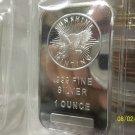 1- OZ. BU .999 Fine Silver Bar.