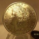 1889 #10 BU  90% Silver Morgan Dollar VAM 7.