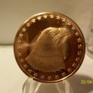 2012 - 1oz Copper Eagle Design Coin.