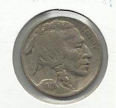 1928 #1 Buffalo Nickel.