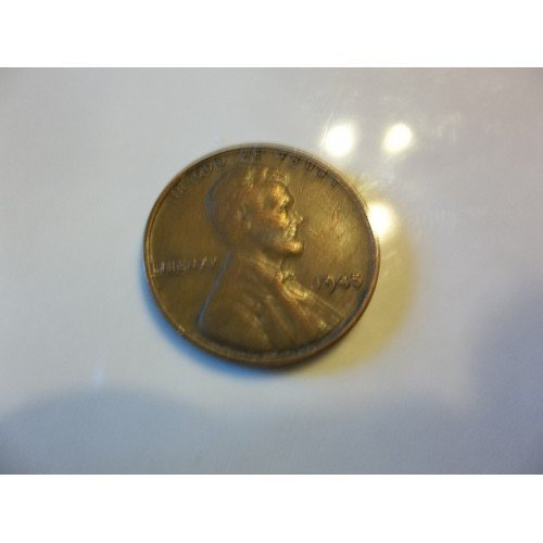 1945 #6 Lincoln Wheat Cent.