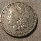 1879-O #1  90% Silver Morgan Dollar.