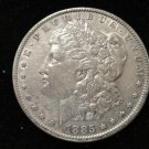 1885 #3  90% Silver Morgan Dollar.