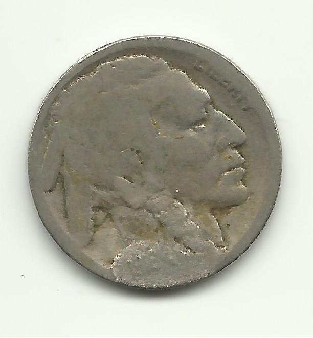 1916 #12 Buffalo Nickel.