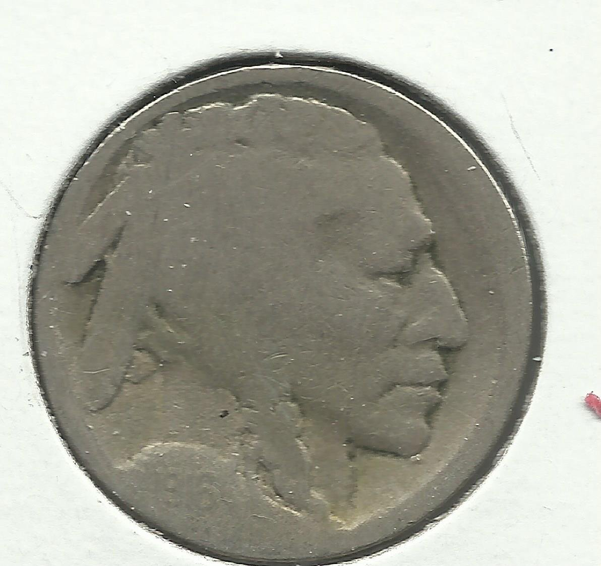 1916-D #3 Buffalo Nickel.