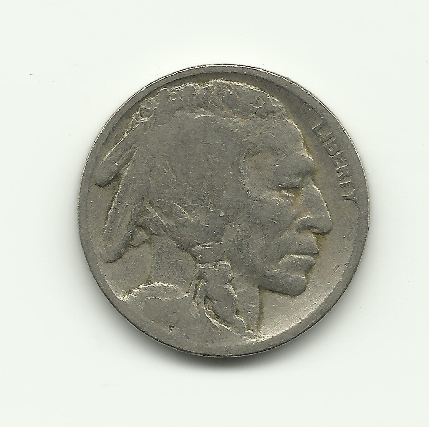1916 #1 Buffalo Nickel.