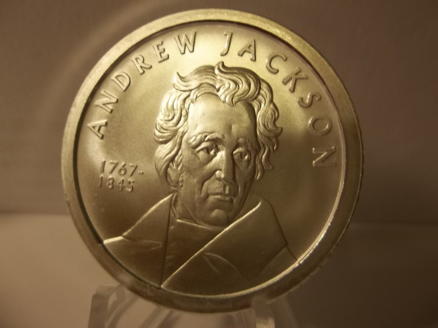 1767-1845 $50 Proof Like Andrew Jackson 1 oz .999 Fine Silver Coin