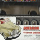 Die-Cast Metal '41' Chevy Special Delux Roadster - New Model Kit