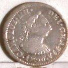 1790-Mo FM Mexico Silver 1/2 Reale