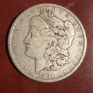 1891 #1 90% Silver Morgan Dollar.