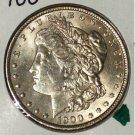 UNC 1900 #1 90% Silver Morgan Dollar.