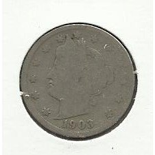 1903 #4 Liberty V Nickel