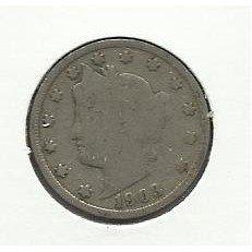 1903 #5 Liberty V Nickel