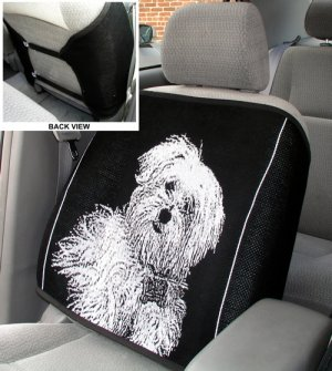 Custom Photo Car Seat Back Cover Auto Made in USA