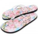 Custom Photo Womens FLIP FLOPS Sandals Shoes sz  SM, MED, LG, XL