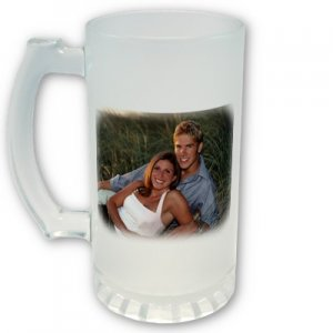 Custom FROSTED Mugs Cups with YOUR Photo or Child's Artwork #CT