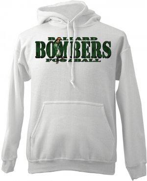 Custom Photo Adults Hooded Sweatshirt Hoodie Size LG