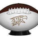Custom Photo Lazer Etched FOOTBALL High school Memorobilia