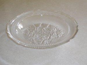 Rare Iris and Herringbone soup bowl Jeannette Glass Co.