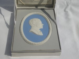 Wedgwood Jasperware President Richard Nixon Placque