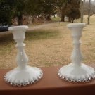 Fenton Silvercrest Candle sticks.holders