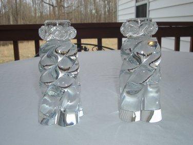 Baccarat Crystal Aladdin Candleholders