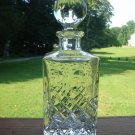 Rogaska  Gallia Decanter with Square base  10 7/8""