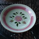 Stangl Wild Rose Coupe Soup Bowl 7 3/4""