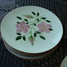 Stangl Wild Rose salad plate