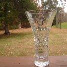 """Rogaska Gallia 7"""" Trumpet Vase"""