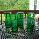 Anchor Hocking Forrest Green Ice tea tumbler 15 oz.