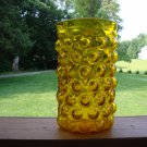 Vineyard Bubble Vase by Blenko Art Glass Mid Century Modern