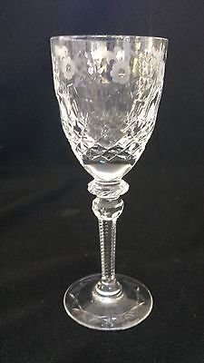"Rogaska Gallia Cordial Glass 5"" tall"