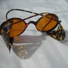 Vintage Real Tortoise Shell Sunglasses 1950's 60's