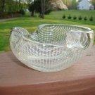 Vintage Murano glass ashtray Mid Century Modern