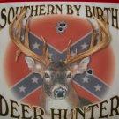 Southern By Birth Deer Hunter T-Shirt Medium