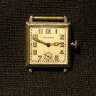 Waltham Men's Watch with Square Luminous Dial and Radium Hands, Runs Great c.1928