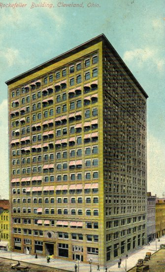 Cleveland Ohio Postcard, The Rockefeller Building c.1910