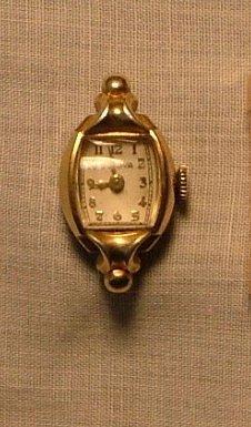 Bulova Women S Watch Ornate Lugs Amp Curved Crystal C 1949